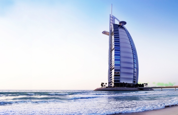 Sample a life of luxury at the prestigious Burj Al Arab, the only seven-star hotel in the world.