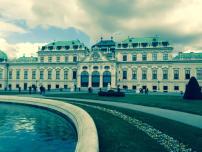 Belvedere Schloss in Vienna