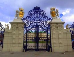 Gate of Belvedere Schloss
