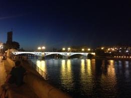 River Guadalquivir in Sevilla