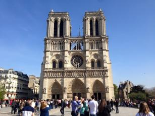 Notre Dame Church in Paris