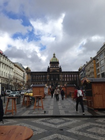Wenceslau Square in Prague