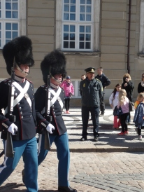 Changing of the Guard Ceremony in Copenhagen